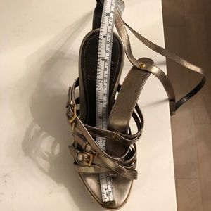 Burberry Shoes - Burberry Wedges with box